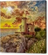 Coquille River Lighthouse 4 Canvas Print