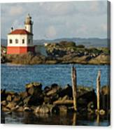 Coquille River Lighthouse Bandon Oregon Canvas Print
