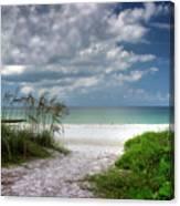 Coquina Beach-bradenton Florida Canvas Print