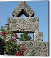 Coral Castle For Love Canvas Print