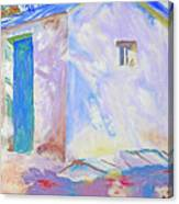 Corfu  Lights And Shadows Canvas Print