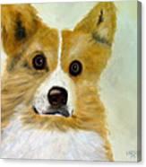 Corgi Canvas Print