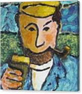 Cork Fisherman Canvas Print