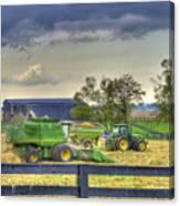 Corn Harst No2 Canvas Print