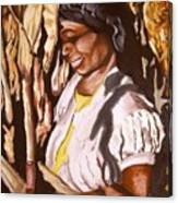 Corn Harvest Canvas Print