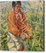 Corn Picker 1915 Canvas Print