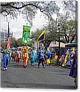 Corner Club 4 - Mardi Gras New Orleans Canvas Print