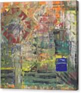 Corner Deli Canvas Print
