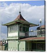 Corner Detail Of The Pavilion - Ryde Canvas Print