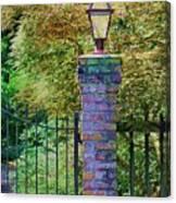 Corner Lantern Canvas Print