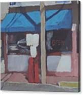 Corner Mom And Pop Canvas Print