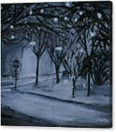Corner Of Broadway And Wilson  Canvas Print