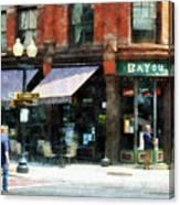 Corner Of Columbia And Pearl Albany Ny Canvas Print