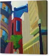 Corner Of Oliver Street, Boston Canvas Print