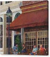 Corner Restaurant Canvas Print