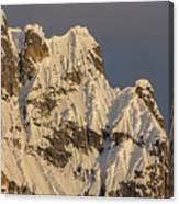 Cornices On The Rooster Comb Canvas Print