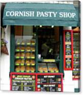 Cornish Pasty Shop Canvas Print