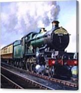 Cornish Riviera Express. Canvas Print