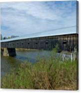 Cornish-windsor Bridge Canvas Print