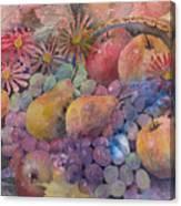Cornucopia Of Fruit Canvas Print