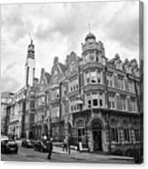 cornwall buildings on the corner of newhall street and cornwall st Birmingham UK Canvas Print