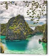 Coron Lagoon Canvas Print