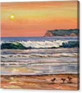 46bec81f0c Coronado Beach Sunset Surf Art Print by Robert Gerdes