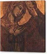 Coronation Of The Virgin 1311 Canvas Print