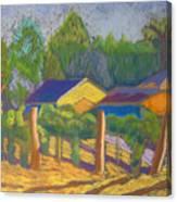Corrales Vinyard Canvas Print