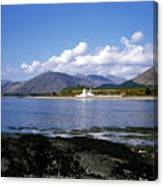 Corran Lighthouse Western Shore Loch Linnhe Fort William Scotland Canvas Print
