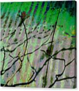 Corregated Shadows Canvas Print