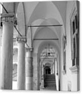 Corridor In Wawel Canvas Print