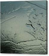 Corroded Steel Or Water Canvas Print