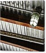 Corrugated Metal Abstract 10 Canvas Print