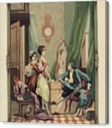 Corset Trade Card, 1912 Canvas Print