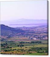 Cortona Tuscany Italy Canvas Print