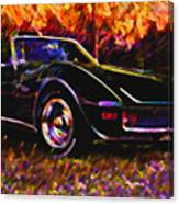 Corvette Beauty Canvas Print