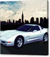 Corvette C-5 1997-2004 Canvas Print