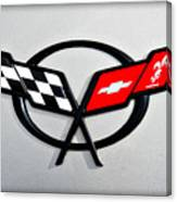 Corvette Flags II Canvas Print