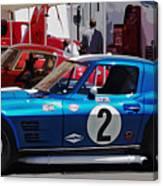 Corvette Grand Sport 1963 Canvas Print
