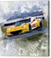 Corvette Racing Canvas Print