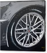 Corvette Wheel Canvas Print