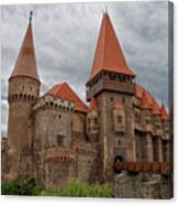 Corvin's Castle Canvas Print