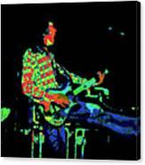 Cosmic Bullfrog Blues Canvas Print