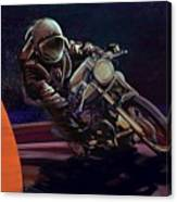 Cosmic Cafe Racer Canvas Print