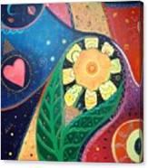 Cosmic Carnival II Aka Duality Canvas Print