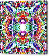 Cosmic Clam Canvas Print