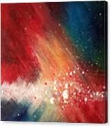 Cosmic Disturbance Canvas Print