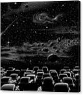 Cosmic Drive Inn Canvas Print