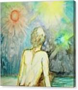 Cosmic Man Canvas Print